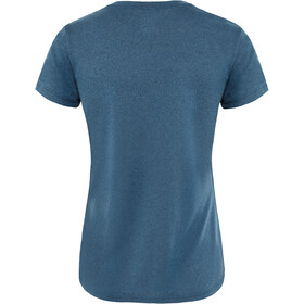 The North Face Reaxion Ampere Crew Shirt Dame blue wing teal heather